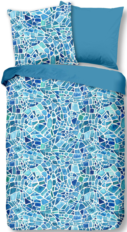 Wendebettwäsche Mozaik good morning