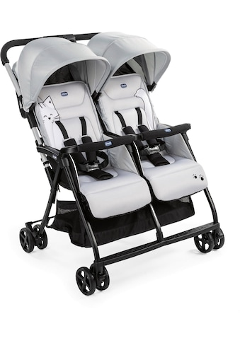 "Chicco Zwillingsbuggy ""OHlalà Twin, Silver Cat"" kaufen"