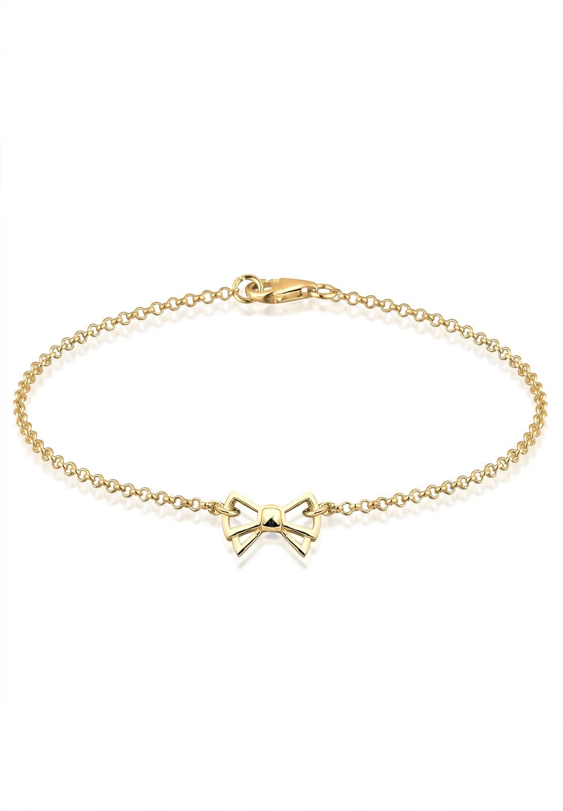 GOLDHIMMEL Armband Schleife 925 Sterling Silber | Schmuck > Armbänder > Goldarmbänder | Goldfarben | Goldhimmel