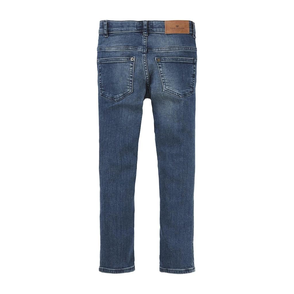 TOM TAILOR Straight-Jeans »Matt Stretch Jeans«