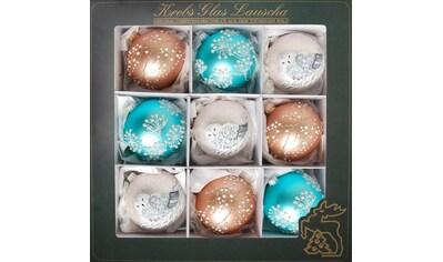 """Krebs Glas Lauscha Weihnachtsbaumkugel """"Winter Dream"""" kaufen"""