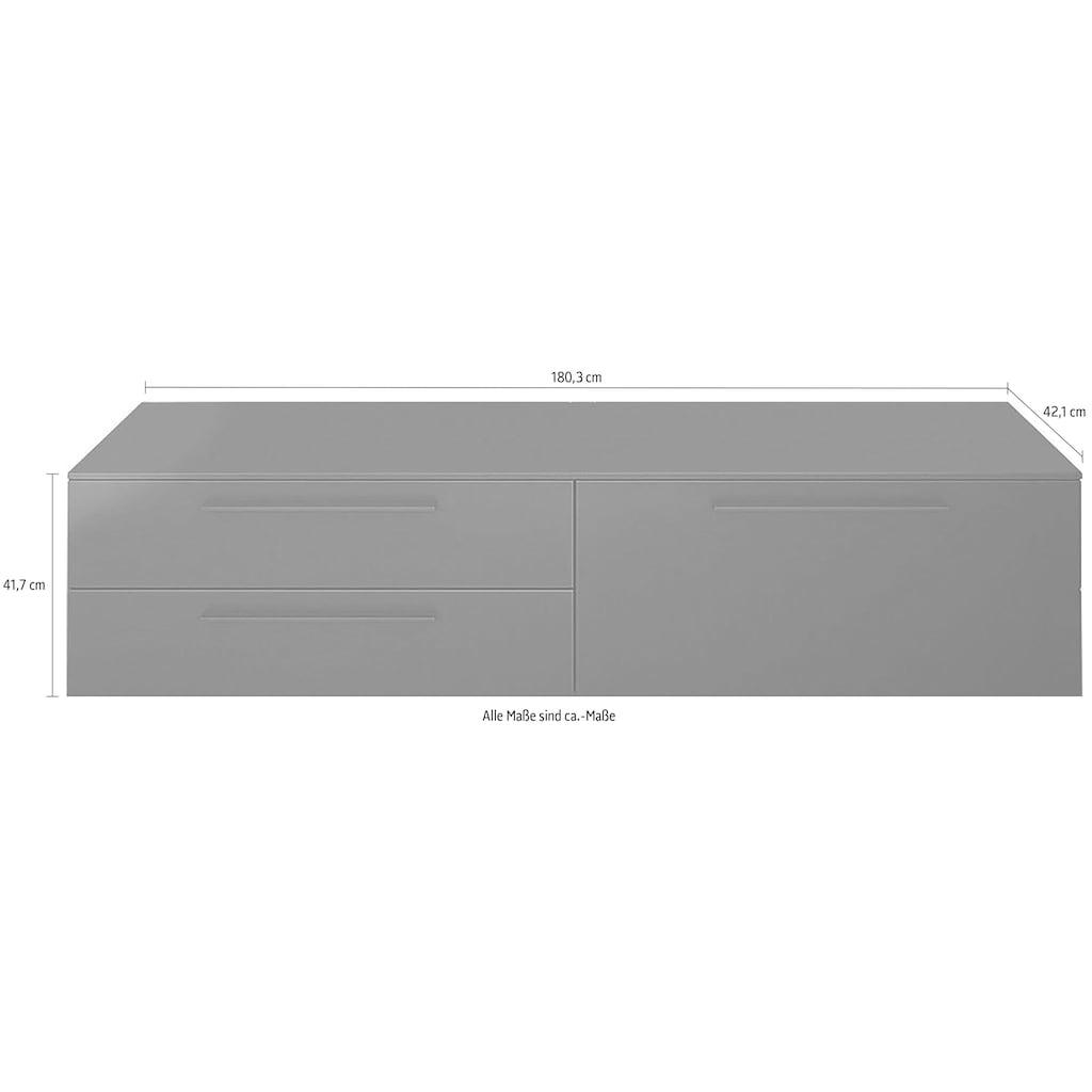 GALLERY M Lowboard »Arrive 7371«, Breite 180,3 cm, mit 2 Schubladen und 1 Auszug, Höhe 41,7 cm