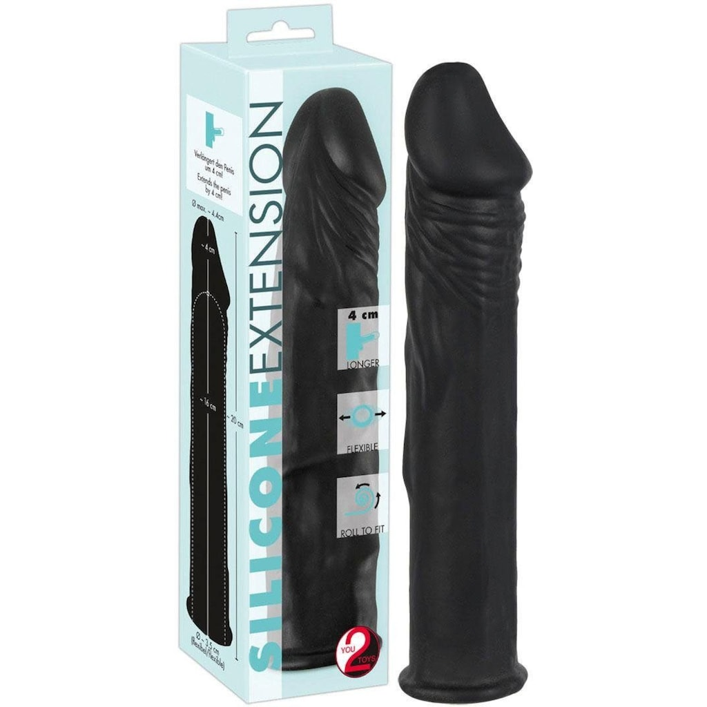 You2Toys Penishülle »Silicone Extension«