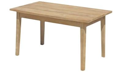 GARDEN PLEASURE Gartentisch »PUEBLO«, Akazienholz, 100x60 cm, hellbraun kaufen