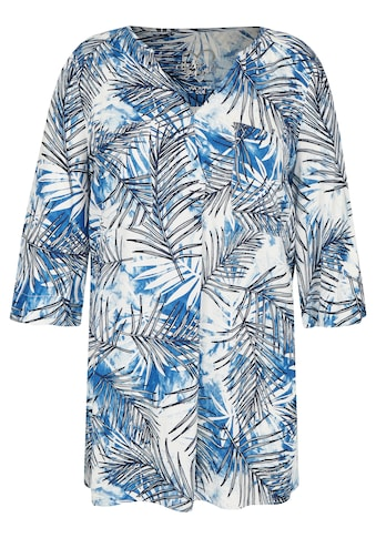 VIA APPIA DUE Extravagante Bluse mit Allover - Print kaufen