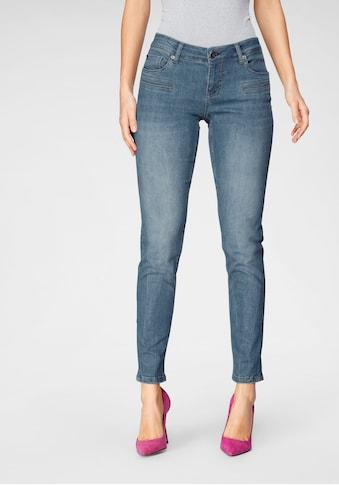 BLUE FIRE Skinny-fit-Jeans »ALICIA-BF«, mit Paspeltaschen vorne kaufen