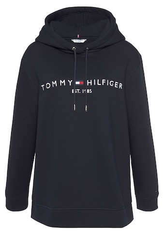 Tommy Hilfiger Curve Kapuzensweatshirt »RV TH ESS HILFIGER HOODIE LS«, mit gesticktem... kaufen