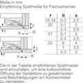 BOSCH Einbaugefrierschrank »GIN41ACE0«, 6, 122,1 cm hoch, 55,8 cm breit