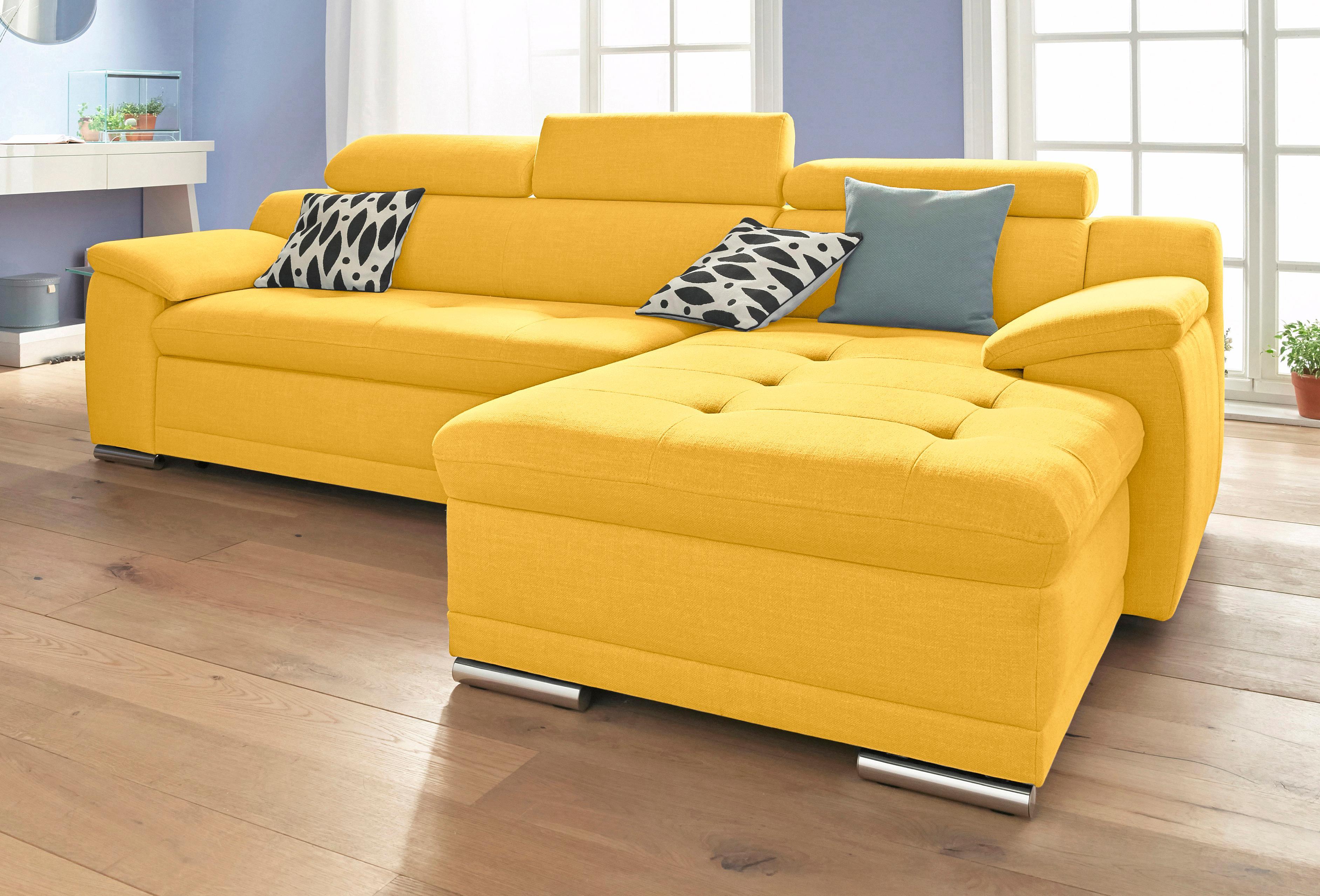 sit&more Polsterecke, wahlweise mit Bettfunktion   Wohnzimmer > Sofas & Couches > Ecksofas & Eckcouches   Kunstleder