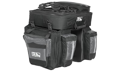 M-Wave Gepäckträgertasche »Amsterdam Triple« kaufen