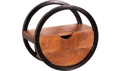 SIT Wandregal, Mit Schublade aus Mangoholz kaufen