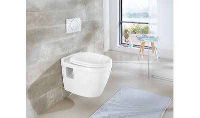 WELLTIME Wand - WC »Dover«, Keramik Toilette inkl. WC - Sitz mit Softclose kaufen