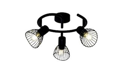 Brilliant Leuchten Elhi Spotspirale 3flg schwarz kaufen