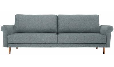 hülsta sofa 3-Sitzer »hs.450«, wahlweise in Stoff oder Leder, im modernen Landhausstil kaufen