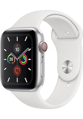 Apple Series 5 GPS + Cellular, Aluminiumgehäuse mit Sportarmband 44mm Watch (Watch OS 6) kaufen