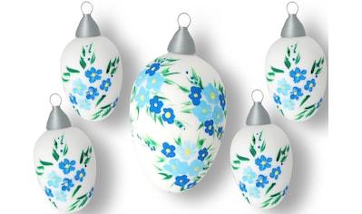 Krebs Glas Lauscha Osterei »Blüten« kaufen
