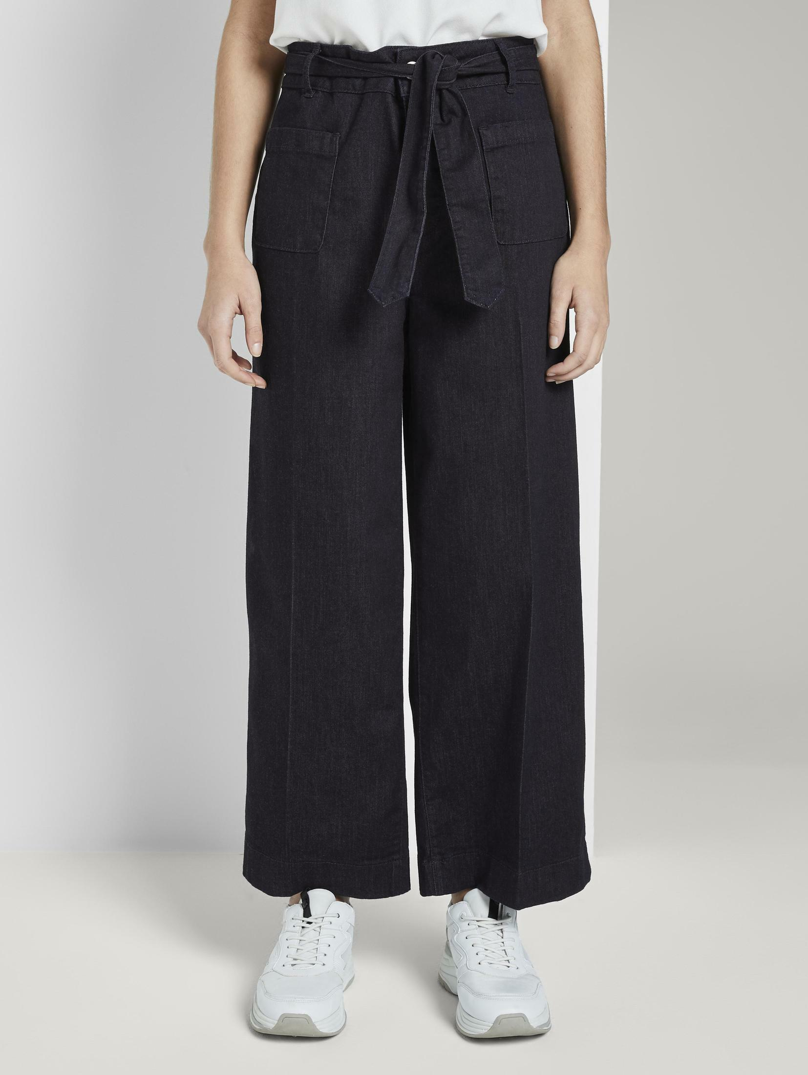 tom tailor -  7/8-Jeans Kate Straight Culotte in Ankle-Länge