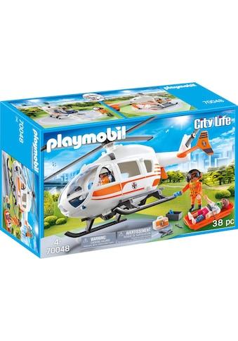 Playmobil® Konstruktions-Spielset »Rettungshelikopter (70048), City Life«, Made in... kaufen