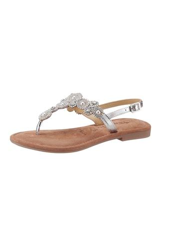 Tamaris Sandale »MINU«, mit funkelnder Verzierung kaufen