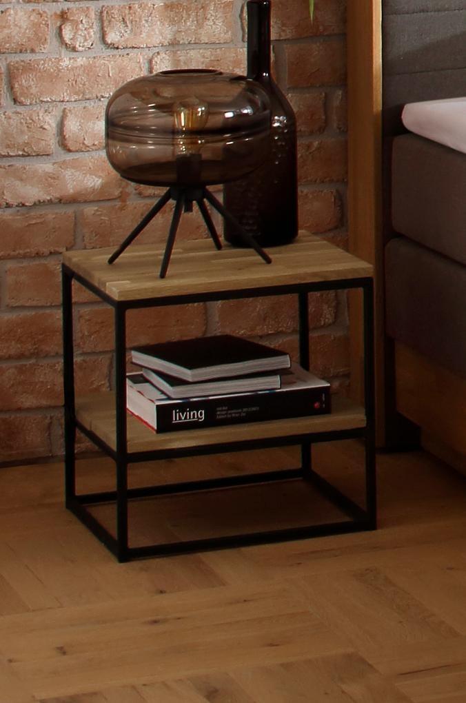 Premium collection by Home affaire Nachttisch   Schlafzimmer > Nachttische   Holz - Metall   Premium Collection By Home Affaire
