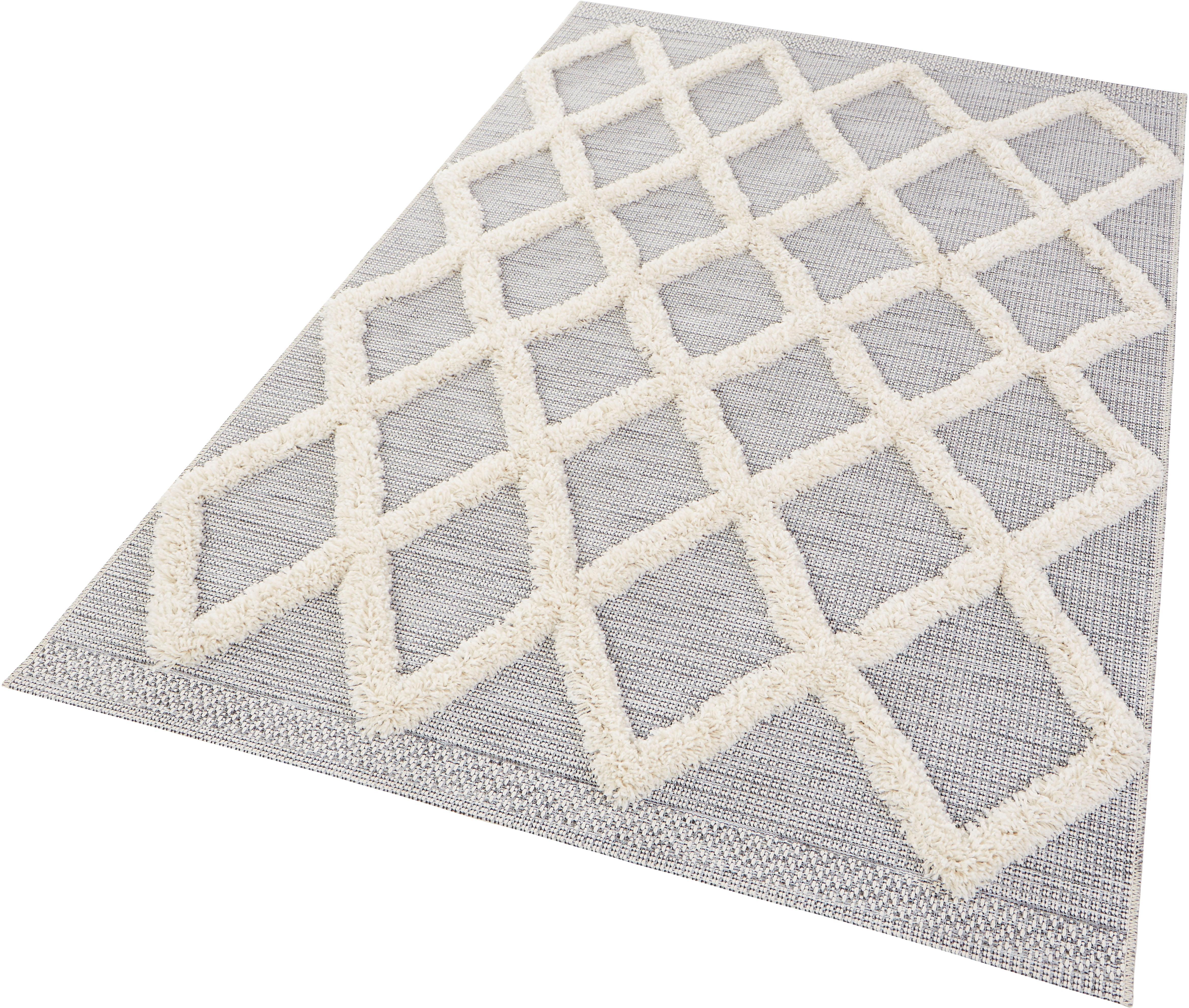 Teppich Ayoun MINT RUGS rechteckig Höhe 35 mm maschinell gewebt