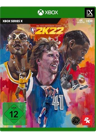 2K Sports Spiel »NBA 2K22 - 75th Anniversary Edition«, Xbox Series X kaufen