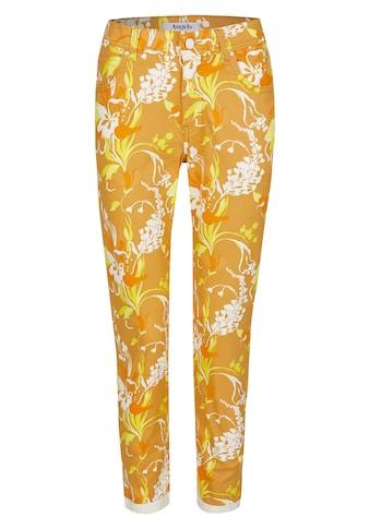 ANGELS Ankle - Jeans ,Ornella Decorate' mit Blumenmuster kaufen