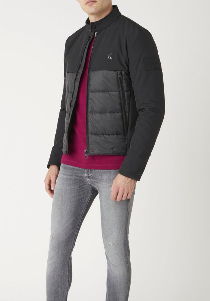 calvin klein jeans -  Steppjacke MOTO JACKET