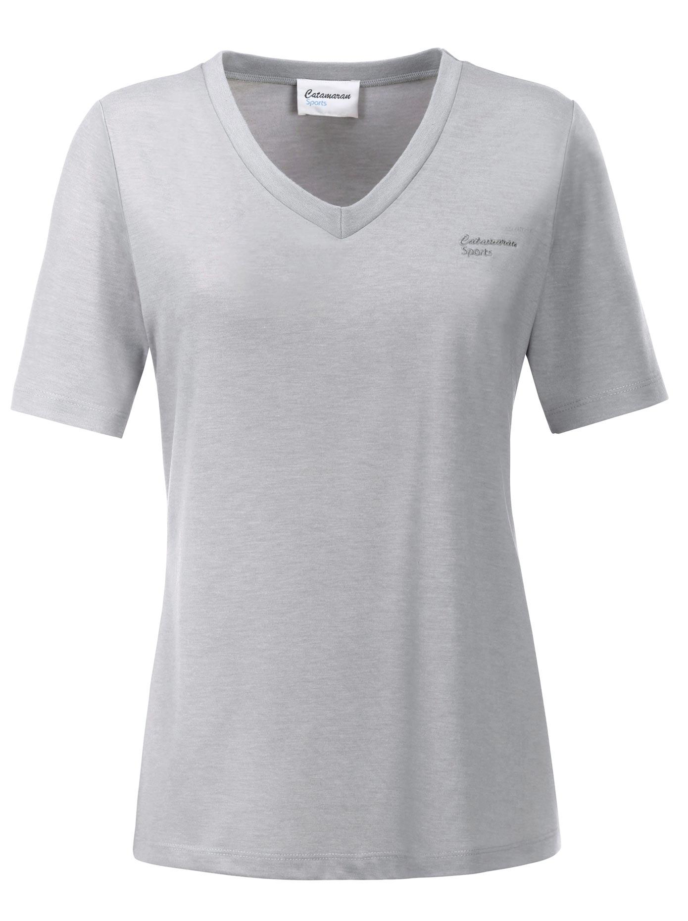 Catamaran Sportshirt in weich fließender Qualität | Sportbekleidung > Sportshirts | Grau | Catamaran