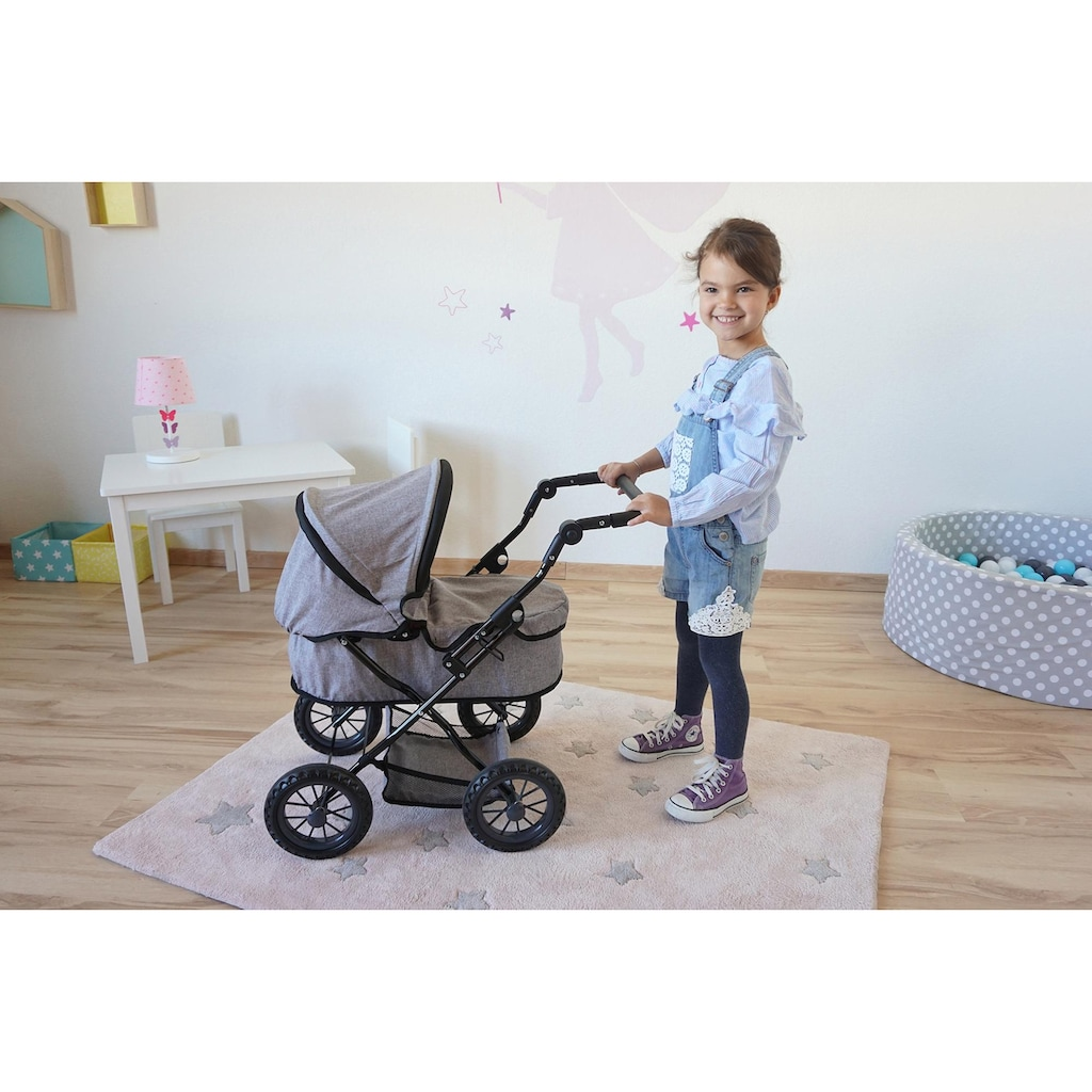 Knorrtoys® Puppenwagen »First - stone«