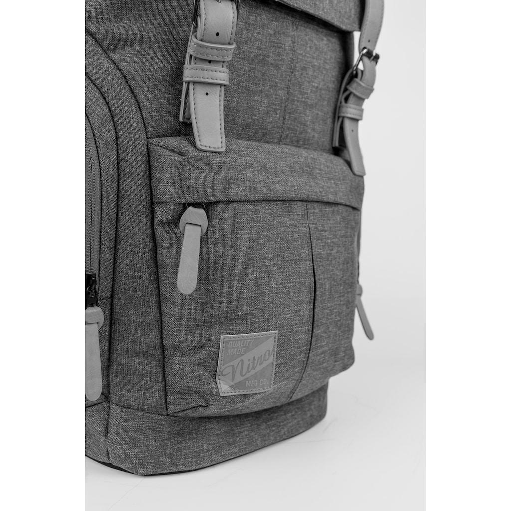 NITRO Freizeitrucksack »Daypacker, Grateful Pink«, mit Laptopfach