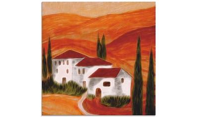 Artland Glasbild »Toskana«, Europa, (1 St.) kaufen