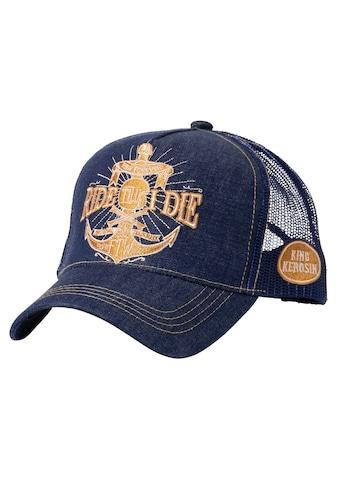 KingKerosin Trucker Cap »Ride Till I Die«, mit goldfarbener Stickerei kaufen