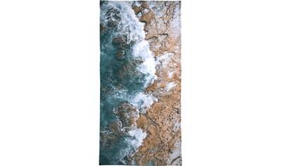 Juniqe Strandtuch »H2O«, (1 St.), Weiche Frottee-Veloursqualität kaufen