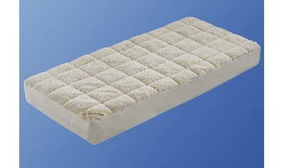 Matratzenauflage »Unterbett Lammflor mit Spannauflage«, f.a.n. Frankenstolz, 2,7 cm hoch kaufen