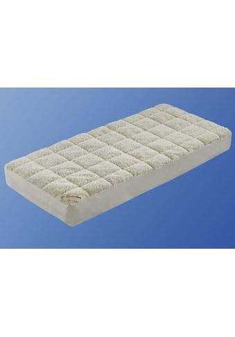 f.a.n. Schlafkomfort Matratzenauflage »Unterbett Lammflor mit Spannauflage«, hohe... kaufen