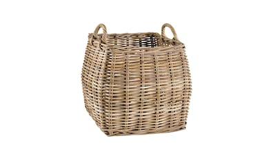 Korb aus Kubu - Rattan handgeflochten kaufen