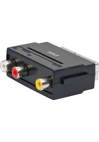 SCHWAIGER Scart Adapter, Audio Video Adapter, Cinch zu Scart »AV Konverter Wandler Digital« kaufen