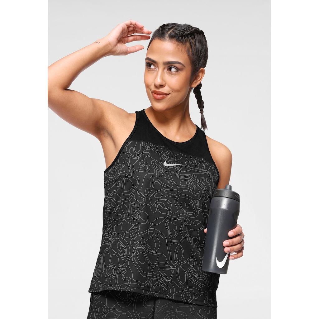 Nike Lauftop »Nike Miler Run Division Women's Allover Print Running Tank«