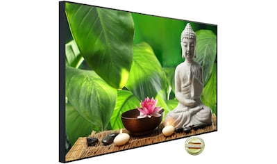 Papermoon Infrarotheizung »EcoHeat - Buddah in Meditation«, Aluminium, 1200 W, 100 x... kaufen