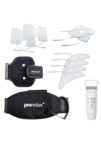 prorelax Elektrodenpads »Zubehör Set 351647«, bestehend aus verschiedenen Elektroden,... kaufen