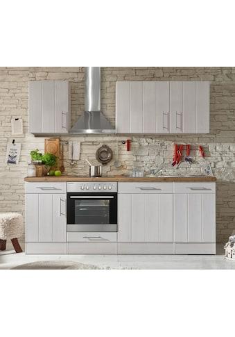 RESPEKTA Küchenzeile »Ulm«, mit E-Geräten, Breite 220 cm kaufen