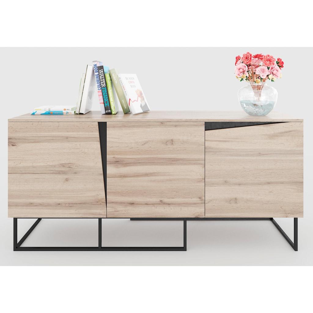 Home affaire Sideboard »Carv«, Breite 165 cm