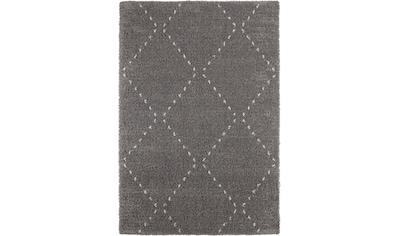 MINT RUGS Hochflor-Teppich »Basay«, rechteckig, 35 mm Höhe, Wohnzimmer kaufen