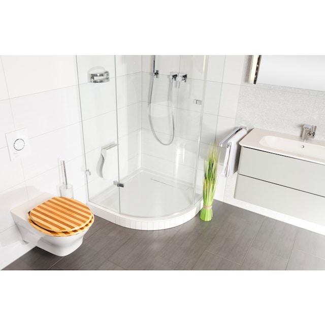 SANILO WC-Sitz »Bambus Gestreift«