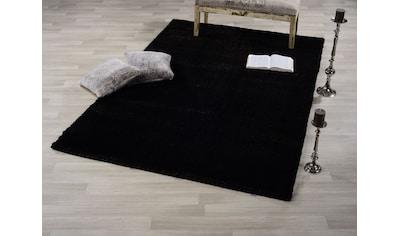 GALLERY M Hochflor-Teppich »Solo«, rechteckig, 30 mm Höhe, besonders weich durch... kaufen