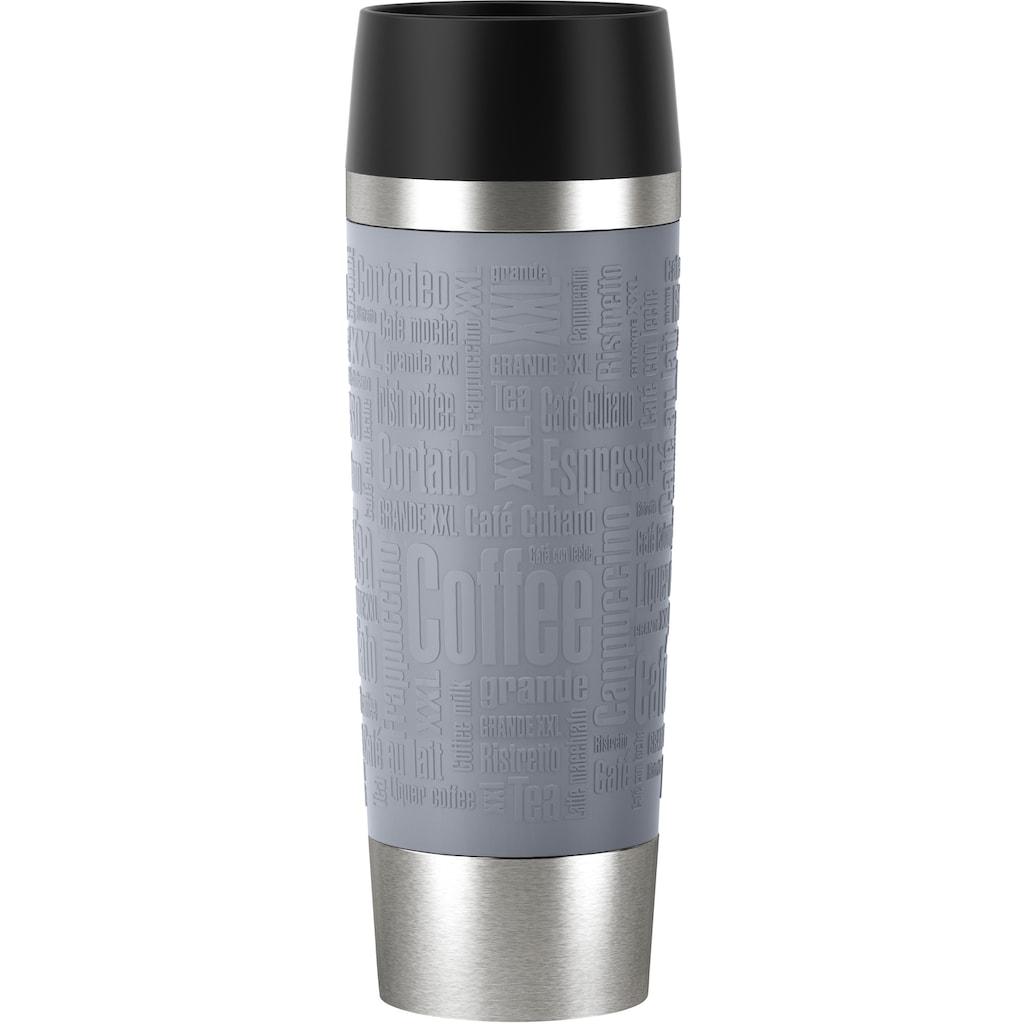 Emsa Thermobecher »Travel Mug Grande«, (1 tlg.), 100% dicht, 6h heiß, 12h kalt, 500 ml