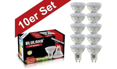 BLULAXA LED-Leuchtmittel »Retro Multi«, GU10, 10 St., Warmweiß, 10er-Set, Promotion-Pack Strahler kaufen