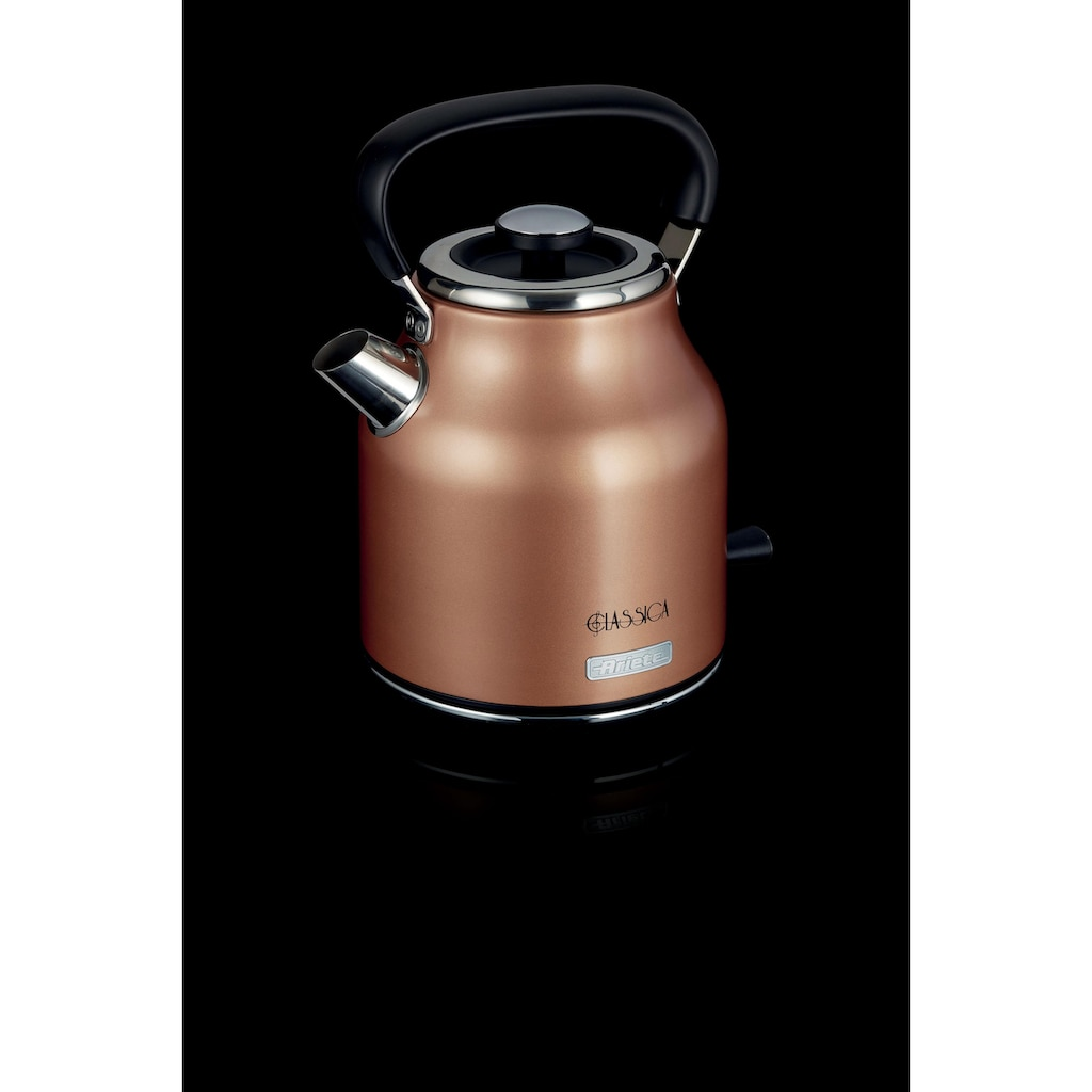 Ariete Wasserkocher »2864KU Classica kupfer«, 1,7 l, 2200 W