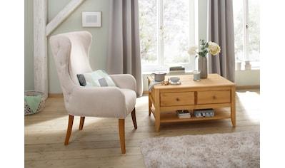 Home affaire Ohrensessel »Shabelle«, in zwei verschiedenen Farben und toller Holzoptik, Sitzhöhe 47 cm kaufen